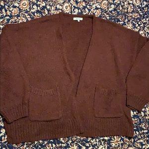 Cozy Madewell cardigan